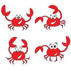 Crabs set.