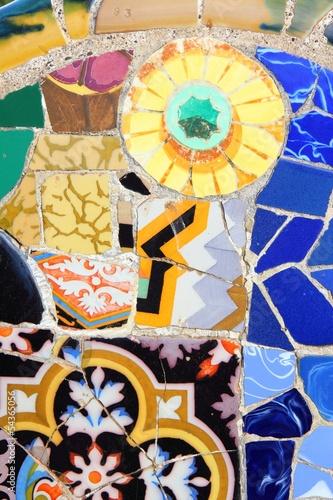 Zdjęcia na płótnie, fototapety, obrazy : Barcelona mosaic