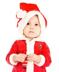funny baby Santa