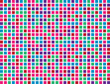 Abstract colored boxes background pattern