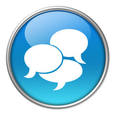 Bottone vetro chat