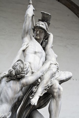 The Rape of Polyxena - sculpture by Pio Fedi, Florence