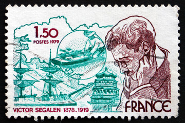 Postage stamp France 1979 Victor Segalen, Physician, Explorer