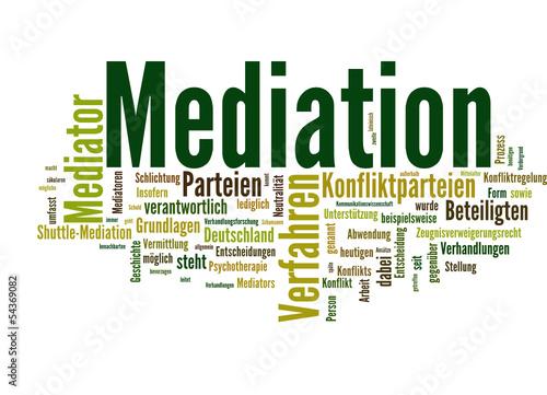 Mediation (Vermittlung, Schlichtung)
