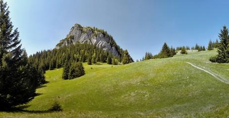 Maly Rozsutec mountain in Mala Fatra in Slovakia