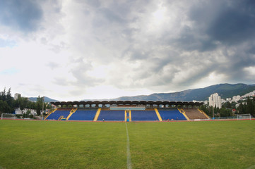 Yalta municipal city stadium