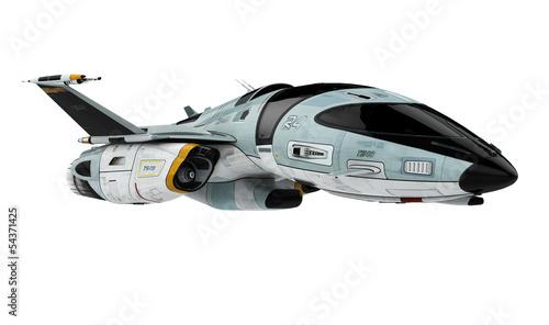 Leinwanddruck Bild new space ship