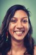 smiling portrait woman