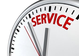 Service and support around the clock