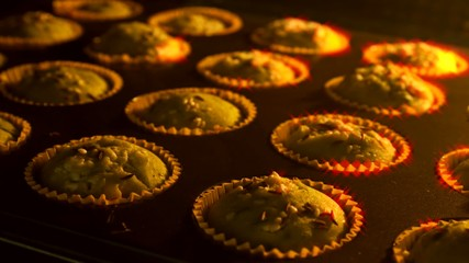 muffin timelapse