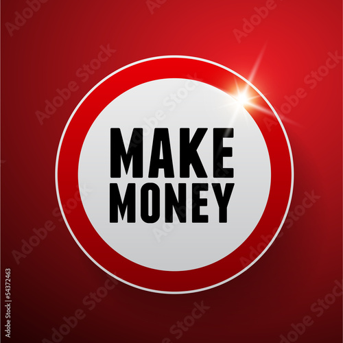 Make money button red