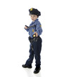 Cautious Little Policeman
