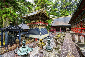 Toshogu shrine in Nikko, Japan