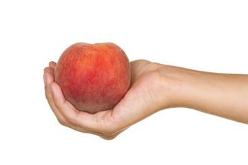 Red peach