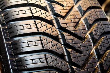 Tyre detail.