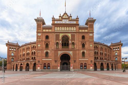 Fotobehang Madrid Plaza de Toros de Las Ventas, Madrid, Spain
