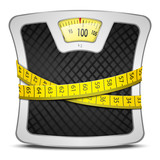 Fototapety Scales Diet Concept