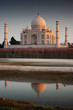 Taj Mahal and its reflection in the Ganges