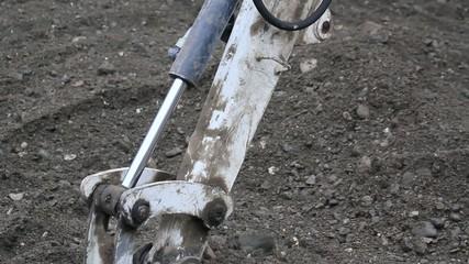 Excavator Close Up