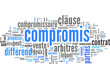 Compromis (consensus, conflit; tag cloud)