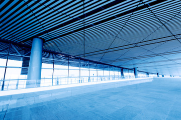 Modern architecture , China Shanghai pudong airport.