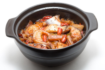 Vietnamese Fish Simmered in Caramel Sauce Ca Kho To