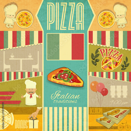 Menu for Pizzeria