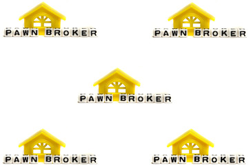 Page of pawn broker theme design
