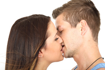Leidenschaftlich küssen