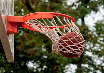 Ball in the basket - shift