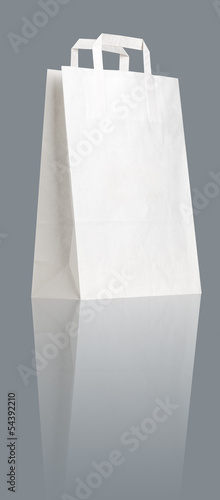 White  shopping bag.