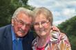 Glückliches Rentner Ehe Paar