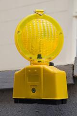 Gelbe Warnleuchte