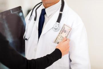 bribing doctor