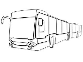 Bus fahren Tribal