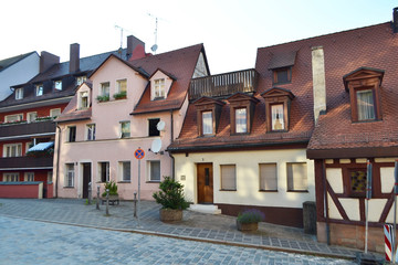 Street in center of Nuremberg