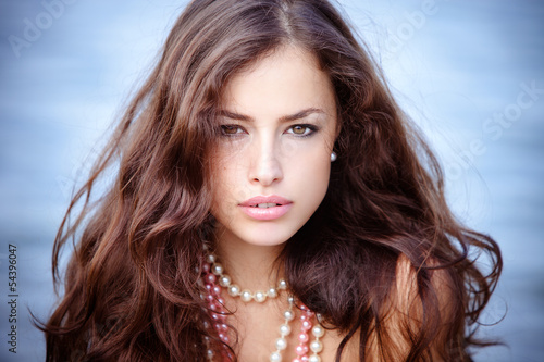 young beauty portrait