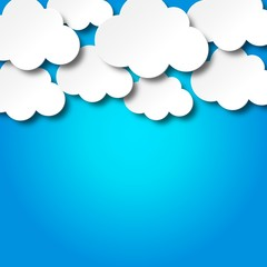 Clouds, background
