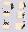 6 Cat Labels