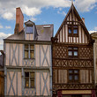 timbered houses, Angers, France