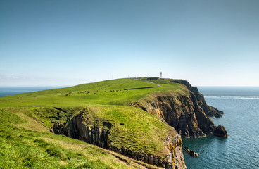 Headland on the Mull of Galloway