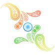 creative style indian flag