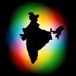 indian map design