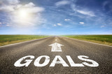 Road with Goals