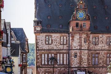 Historisches Rathaus in  Universitätsstadt Marburg, Deutschland