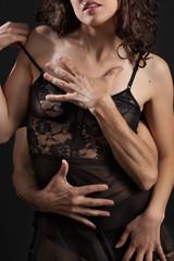 Abbraccio sensuale
