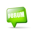 Vector forum icon