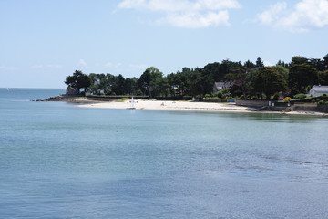 Trinitie sur Mer beach, France