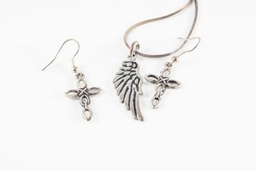 earrings crosses