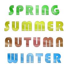 Written set of the four seasons
